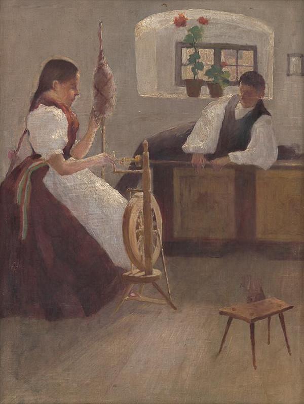 Alexander Kubínyi – Priadka