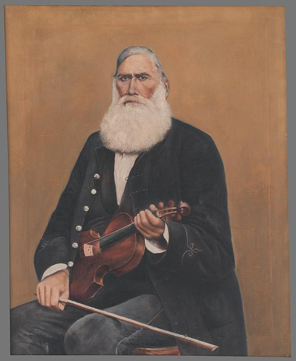 Mikuláš Kubínyi – Portrét cigánskeho primáša J. Piťu