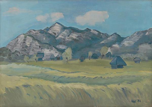 Lev Šimák - Horská krajina