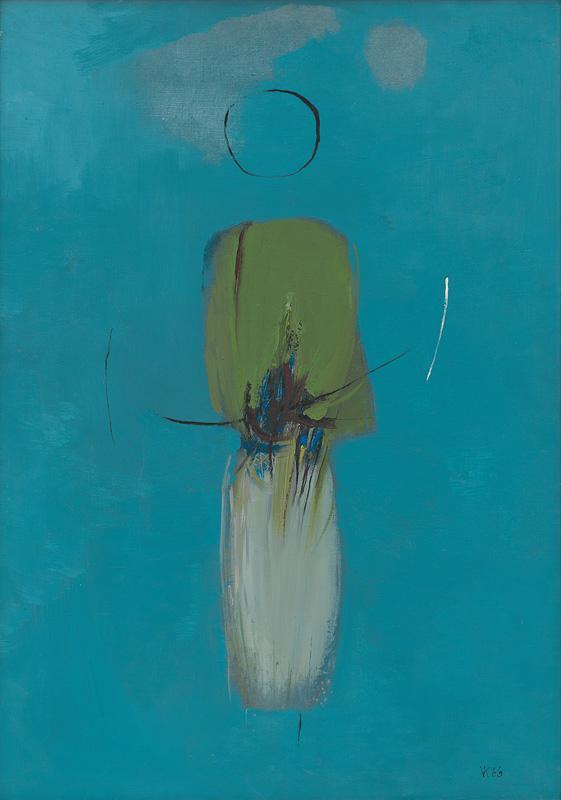 Viera Kraicová – Námesačná, 1966, Oravská galéria