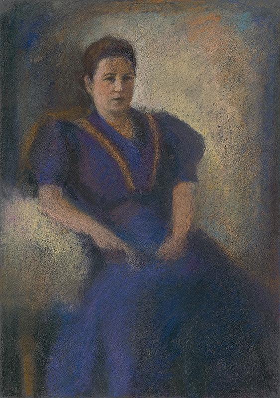 Janko Alexy – Žena vo fialovom