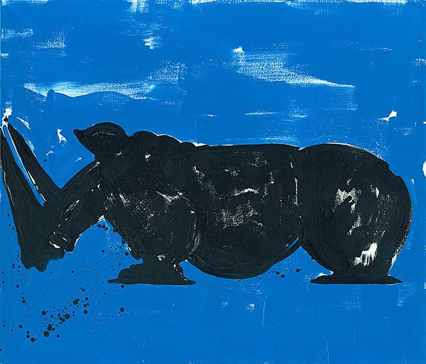 Jacques Barry – Šťastný nosorožec