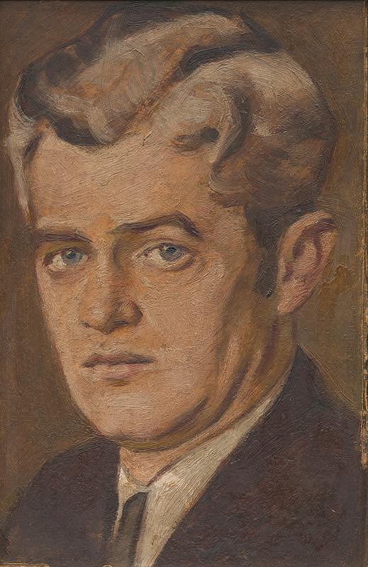 Milan Thomka Mitrovský - Portrét Leva Kolodzieyski