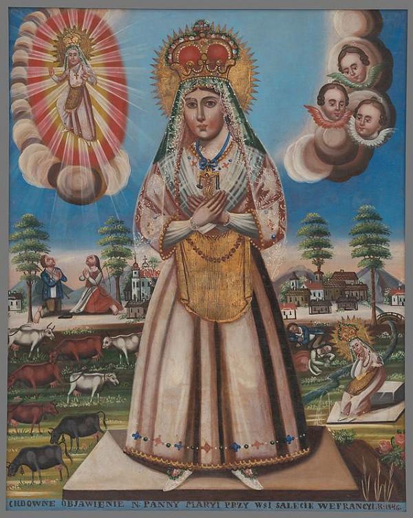 Wincenty Chrząstkiewicz - Panna Mária Saletinská
