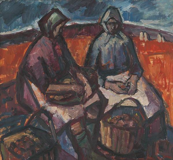 Mária Medvecká - Na zemiakovom poli