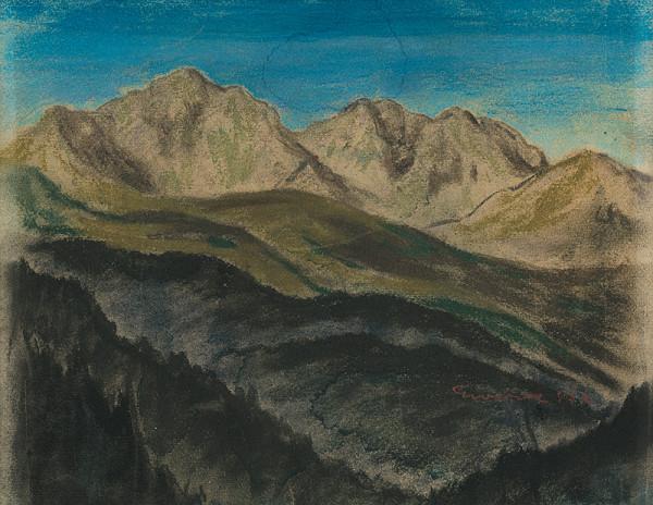 Edmund Gwerk - Roháče - Západné Tatry