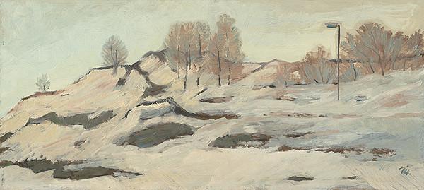 Matilda Čechová - Zimná krajina I.