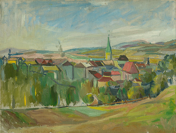 Matilda Čechová - Krajina s mestom