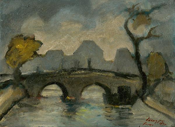 Zolo Palugyay - Most v Paríži / Pont Marie