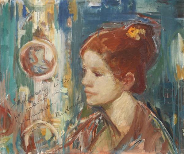 Mária Medvecká – Portrét sochárky Ľudmily Cvengrošovej