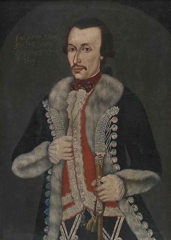 Slovenský maliar z 2. polovice 18. storočia – Portrét muža