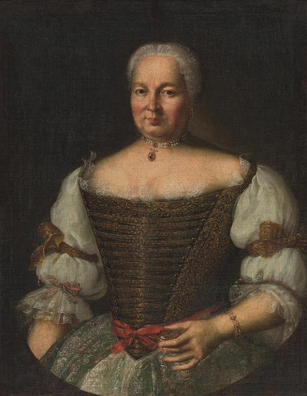 Ján Gottlieb Kramer - Portrét Kataríny Zmeškalovej