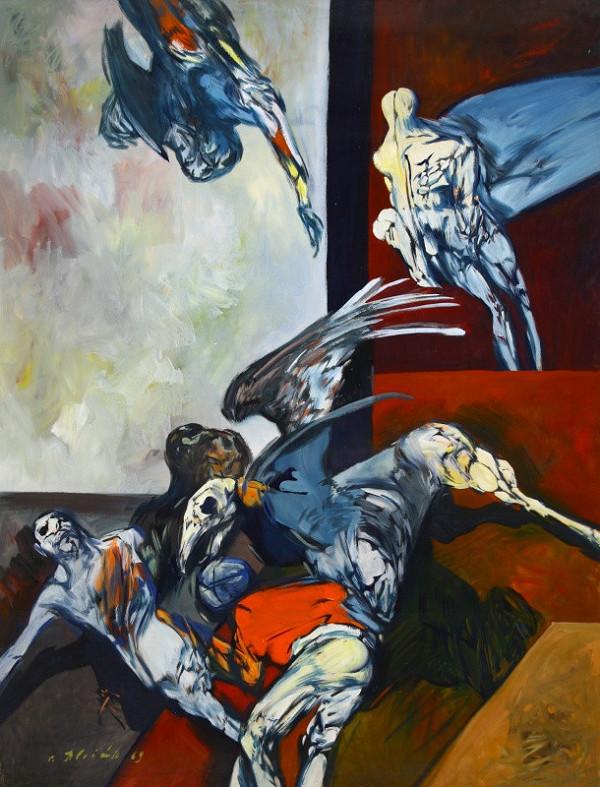 Vincent Hložník – Vojna I.
