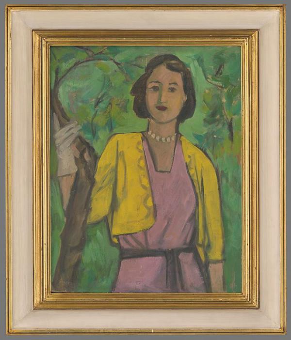 Eugen Nevan - Žena v sade