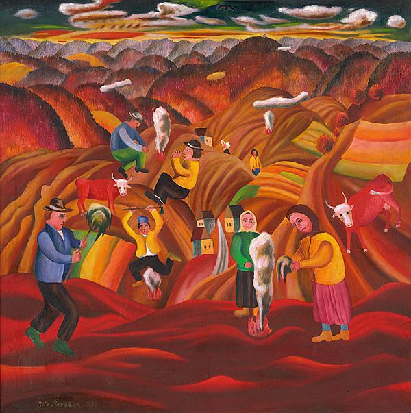 Július Považan - Babie leto pod Sitnom