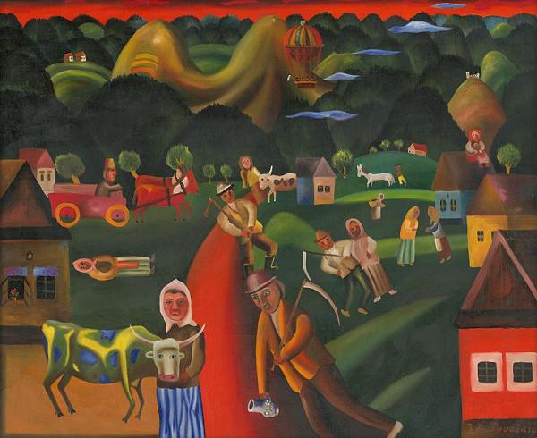 Július Považan – Cesta do dediny