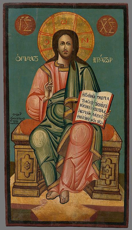 Neznámy autor - Kristus Pantokrator