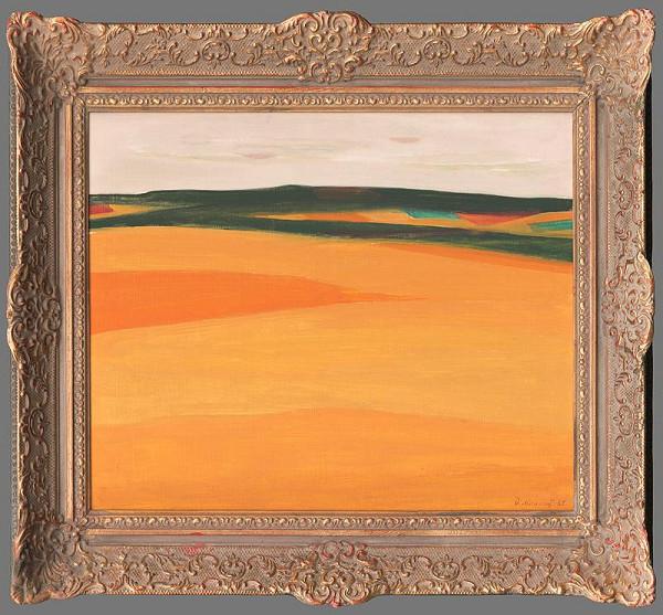 Dezider Milly - Oranžová krajina