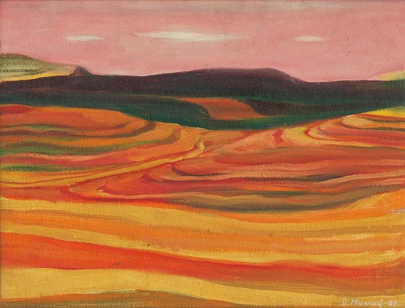 Dezider Milly – Rovina pri Krivom jarku, 1967, Oravská galéria