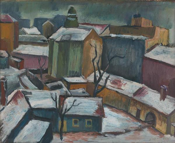 Ernest Zmeták - Pohľad z umelcovho atelieru