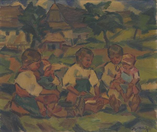 Gustáv Mallý – Deti na slniečku