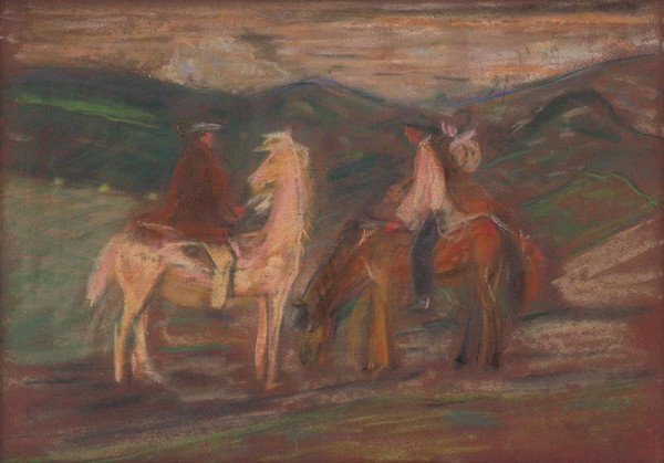 Arnold Peter Weisz-Kubínčan – Jazdci