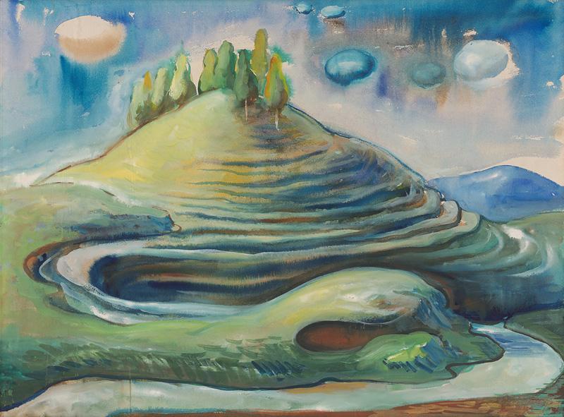 Dezider Milly – Krivý jarok, 1943, Oravská galéria