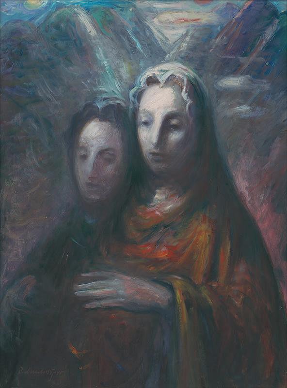 Dezider Milly - Dve ženy