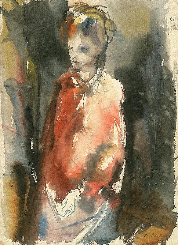 Vincent Hložník – Dievča