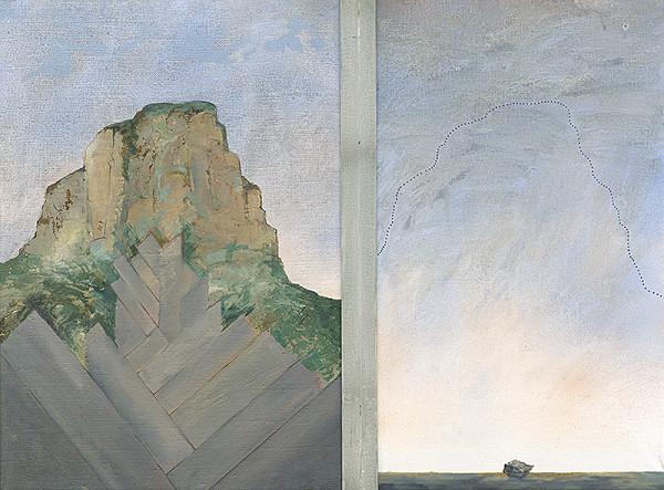Jozef Dorica – Premeny hory-diptych