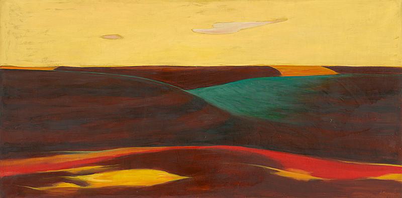 Dezider Milly – Súmrak, 1968, Oravská galéria