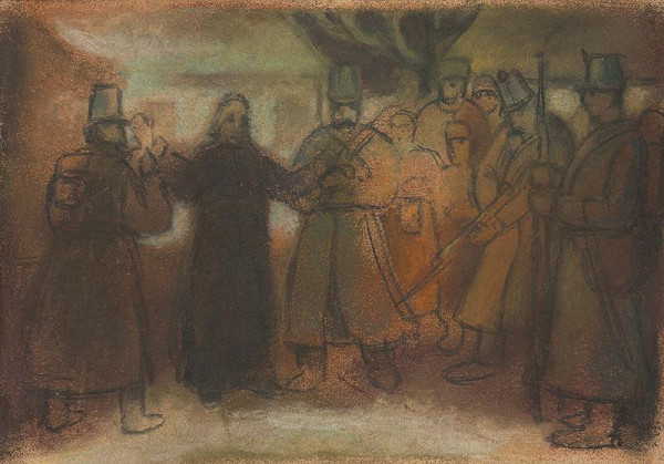 Janko Alexy - Štúdia k historickému obrazu