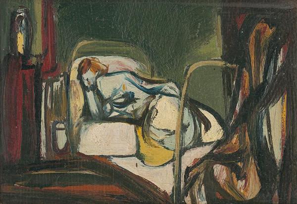 Vincent Hložník - Posteľ I