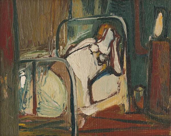 Vincent Hložník - Posteľ II
