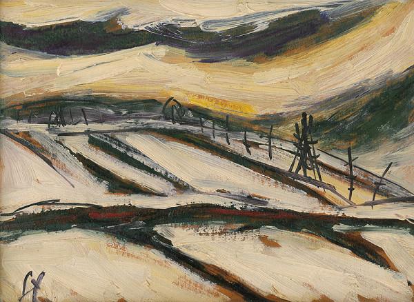 František Studený – Zima v Tisovci