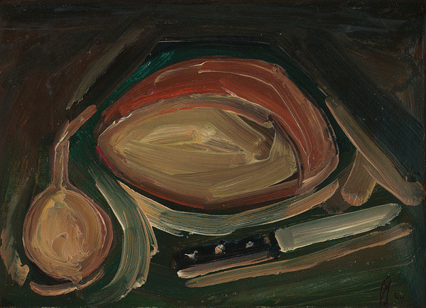 František Studený - Chlieb, cibuľa a nožík