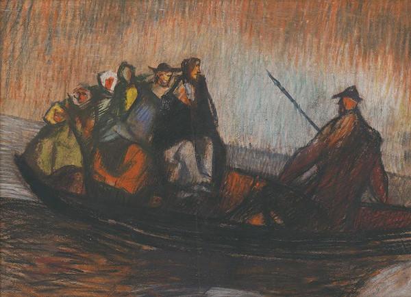 Vincent Hložník - V člne