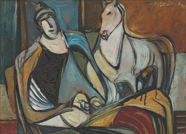 Vincent Hložník - Klaun s koníkom