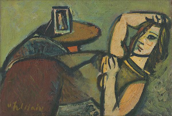 Vincent Hložník - Odpočívajúca