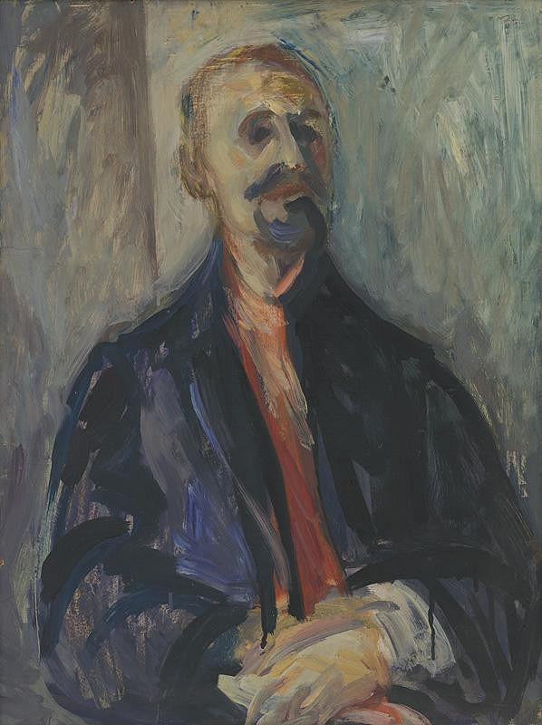 Viliam Chmel – Štúdia portrétu muža