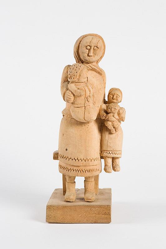 Štefan Siváň st. – Matka s tromi deťmi