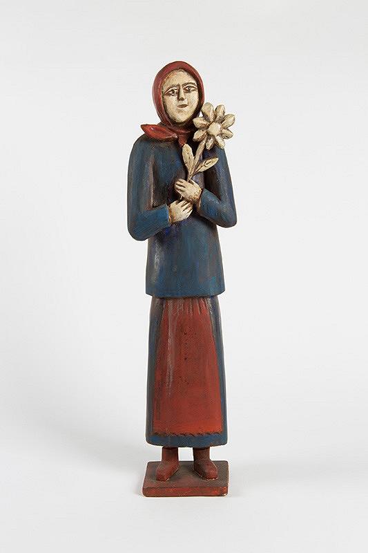 Jozef Medvecký Beňo - Žena s kvetom