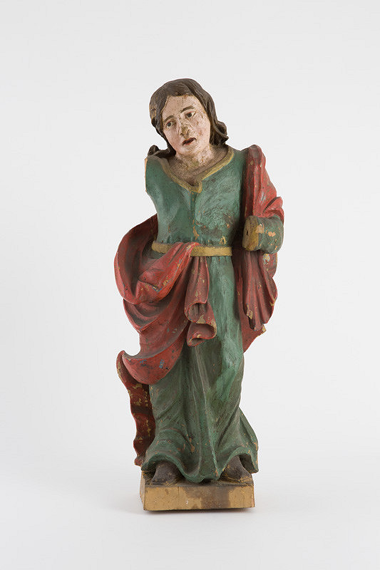 Slovenský rezbár z 19. storočia - Svätý Ján