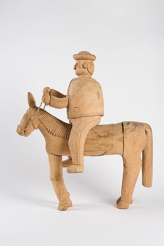 Štefan Siváň st. – Jazdec na koni