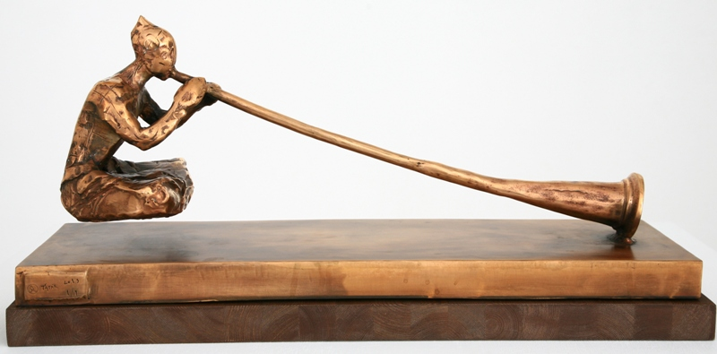 Ján Ťapák – Levitácia, 2015, Oravská galéria