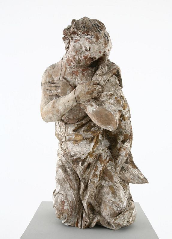 Slovenský rezbár z 2. polovice 18. storočia – Adorujúci anjel