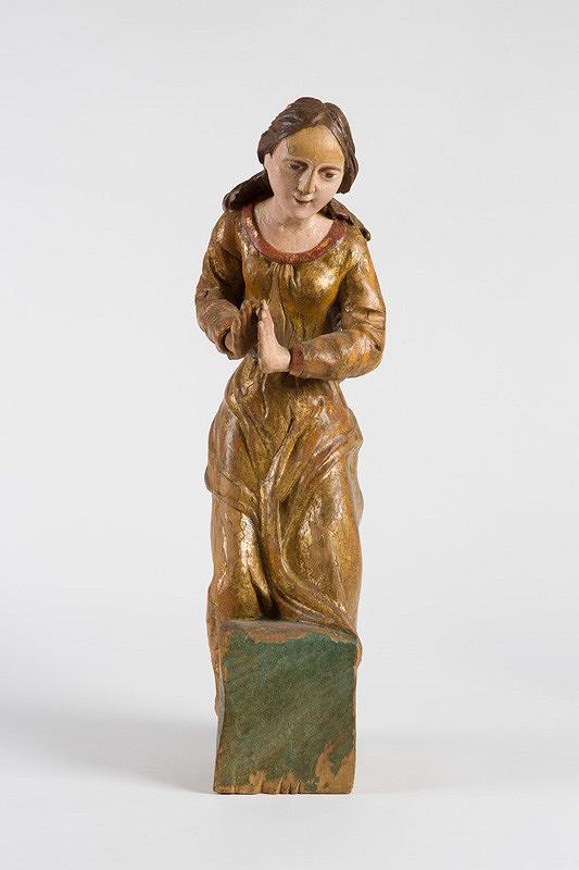 Slovenský rezbár z prelomu 18. - 19. storočia - Panna Mária