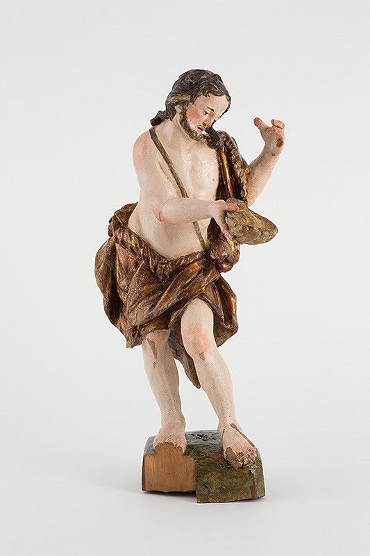 Slovenský rezbár z 2. polovice 18. storočia – Sv. Ján Krstiteľ