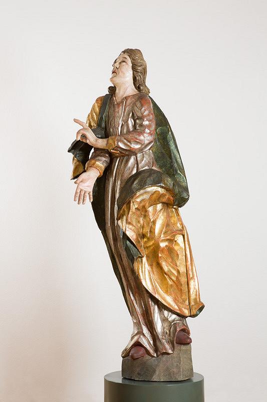 Slovenský rezbár z 2. polovice 18. storočia – Sv. Ján
