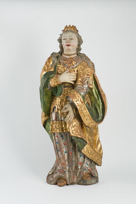 Slovenský rezbár z 2. polovice 18. storočia – Svätá Rozália